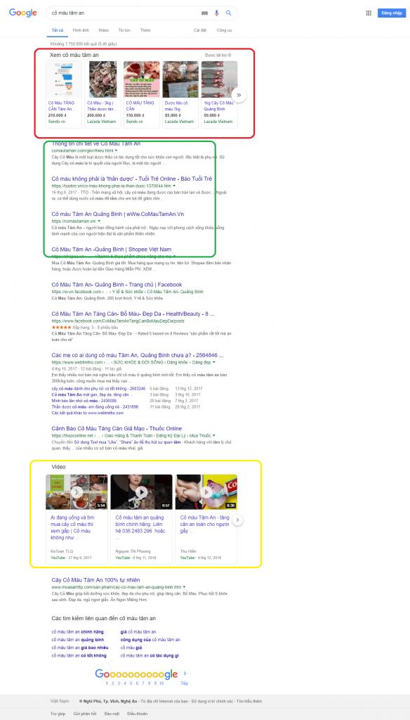 cỏ máu tâm an - Tìm với Google