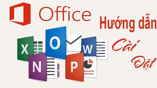 Cài office full chỉ với 1 click