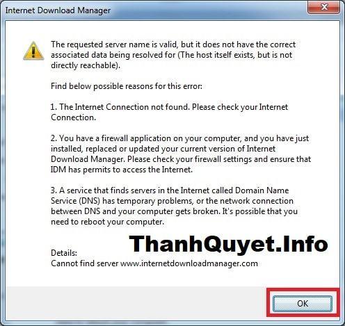 Key IDM 6.33 mới nhất vĩnh viễn – Crack IDM bằng file host