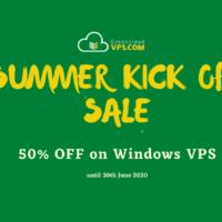 Khuyến mại chào hè sang, GreenCloudVPS giảm giá 50% Windows VPS