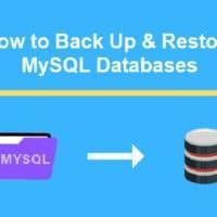 Backup và Restore MySQL Database bằng lệnh